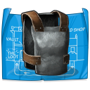 Metal Chest Plate BP